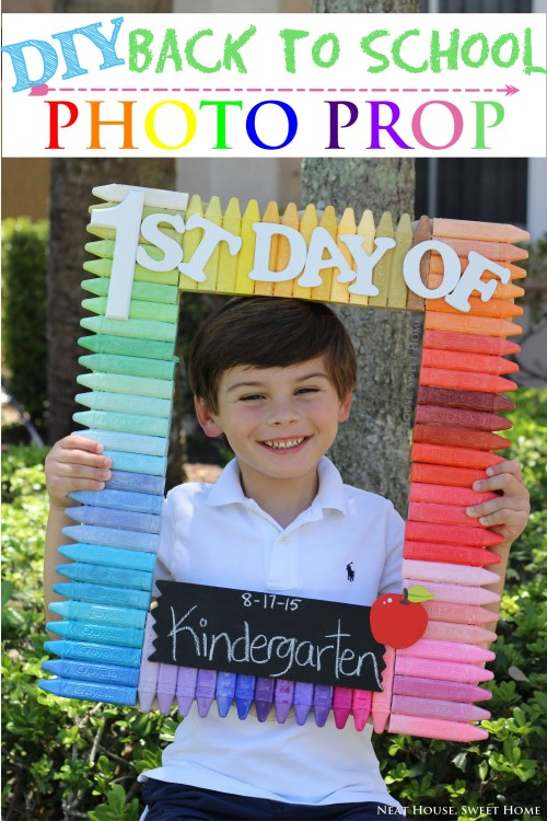 Back To School Photo Prop – Ehow Contribution