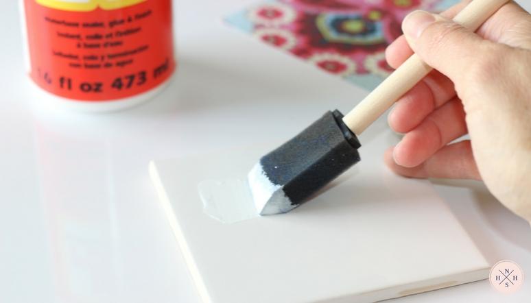 DIY Tile Coasters – Pinspired Friday