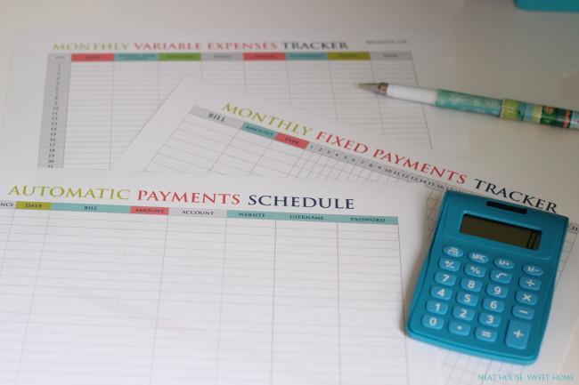 Week 8 - Home Bills Organization