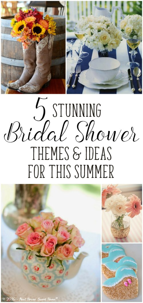 wedding ideas for summer 2016 5 stunning bridal shower ideas for this summer neat 28177