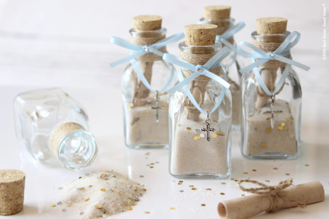 Diy Footprints In The Sand Baptism Favors Neat House