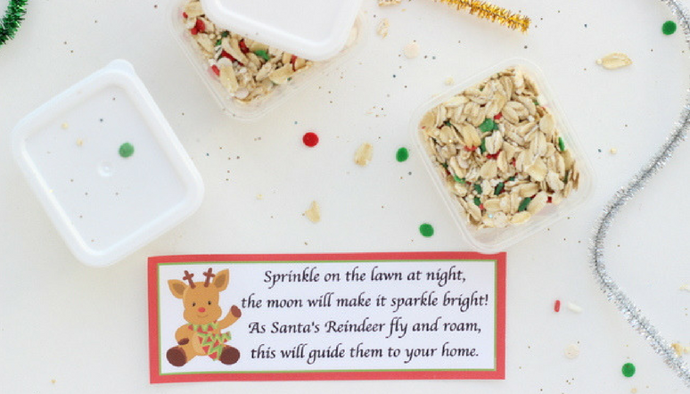Magic Reindeer Food Recipe and Printable Poem