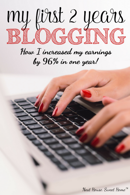 My first two years blogging set me up for success. In one year, my pageviews increased by 1,638% and my income increased by 96%. In this post I share all the details on how I did it.
