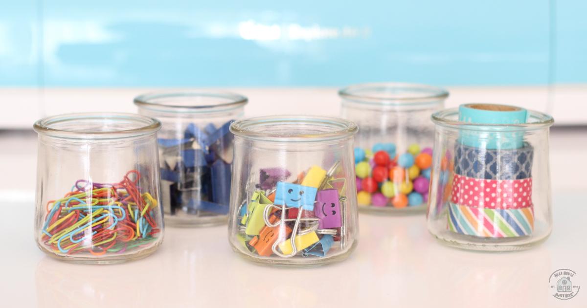 Desk Organization Ideas With Oui Jars Office Organization Tips