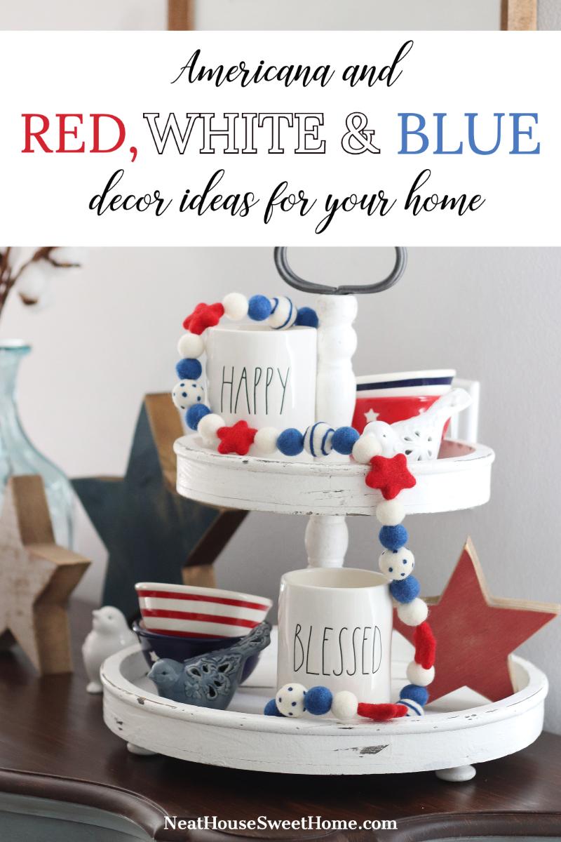 Americana Home Decor Ideas Neat House Sweet Home